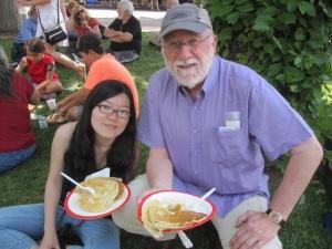 4th of July Pancakes, Santa Fe