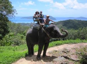 Elephant Trekking, Phuket, Thailand