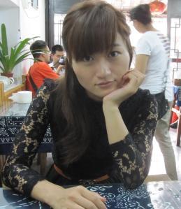 Sam or Chu Hong Bin (Bin Bin) a delightful girl