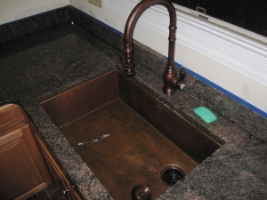 The sink and faucet - exorbitantly expensive